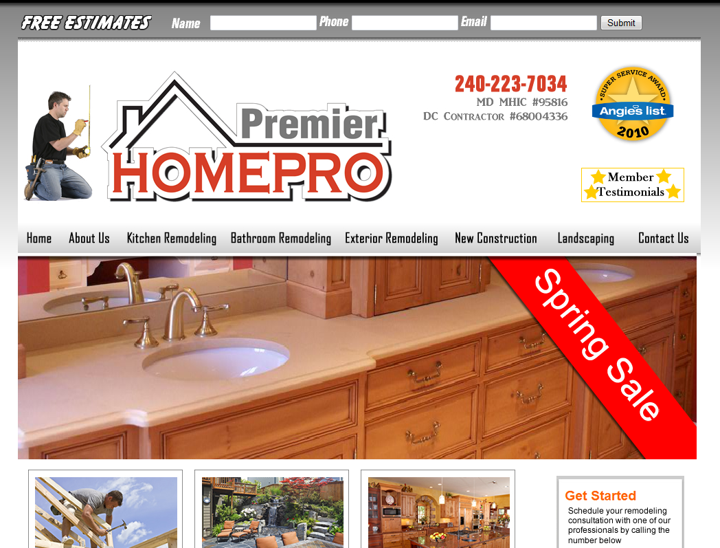 web-design-home-improvements